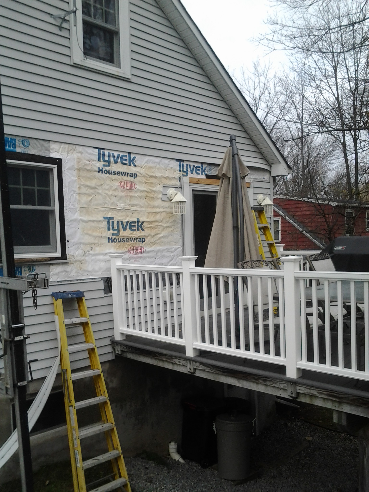 Housewrap Over Tar Paper? - Windows, Siding and Doors