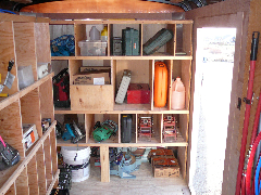 utility trailer shelf plans