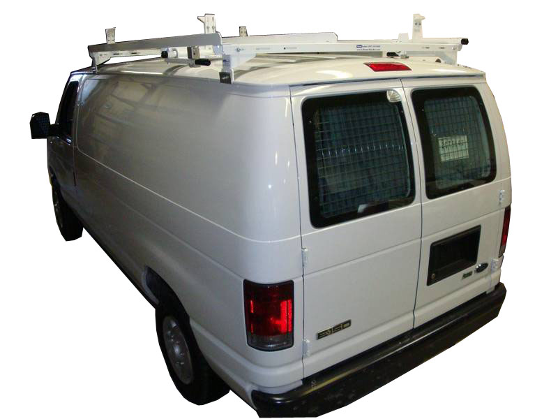ladder rack for van system
