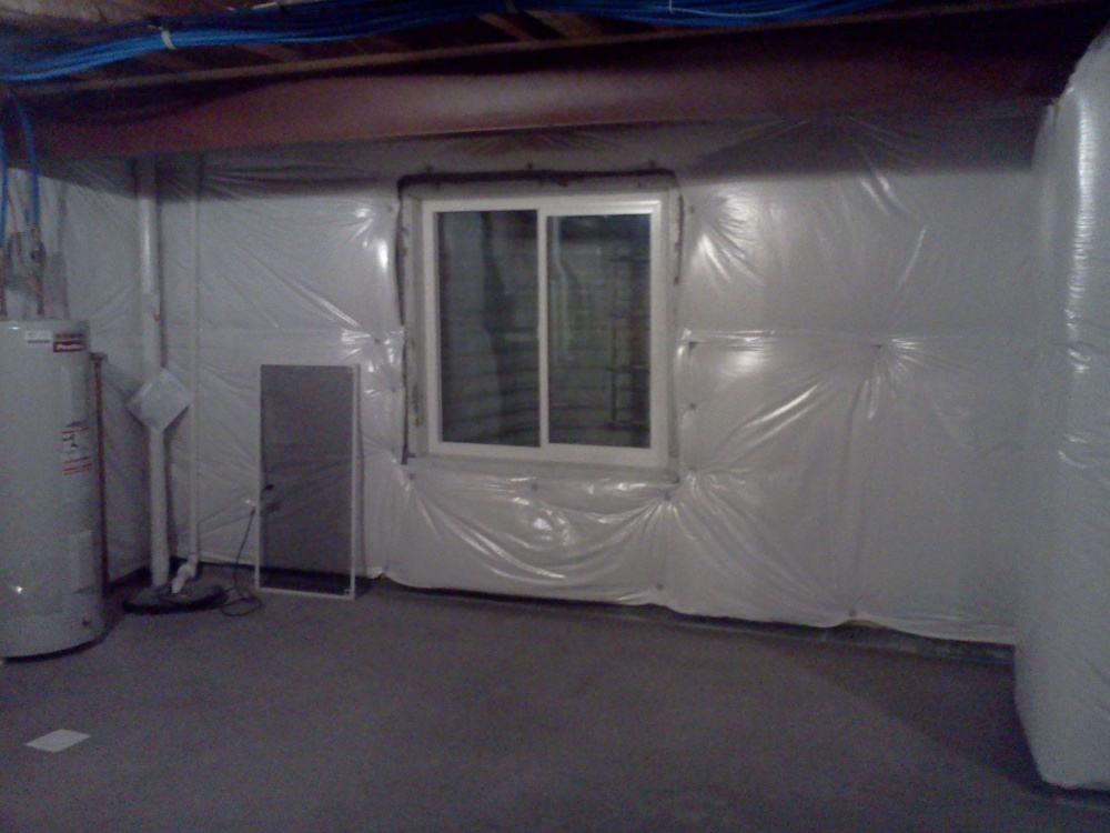 Fire blocking question framing contractor talk for Basement insulation wrap