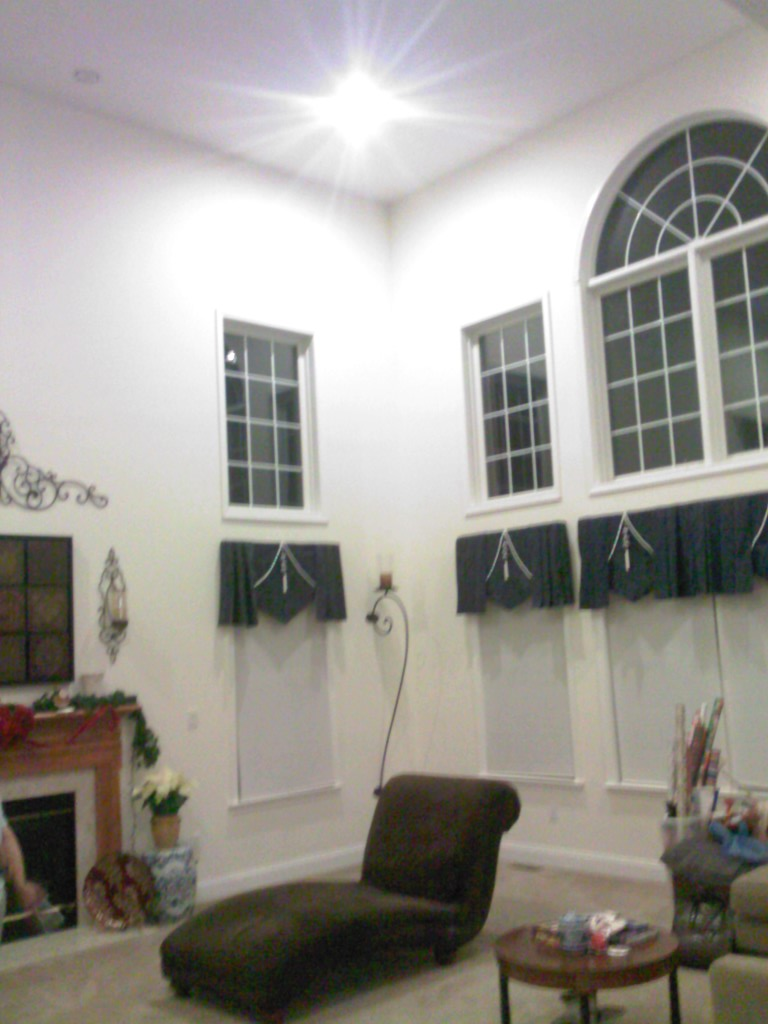 Great Room High Ceiling Wall Trim