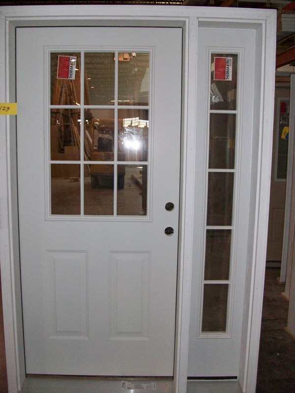 Storm doors with sidelights images for Entry door with storm door