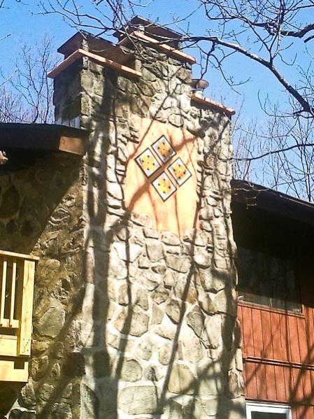 Chimney Repair In Progress Masonry Picture Post