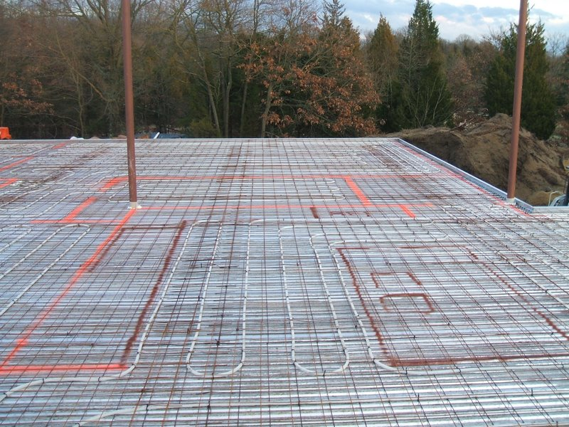 Hydronic radiant heating spacing hvac contractor talk for Floating slab foundation cold climates