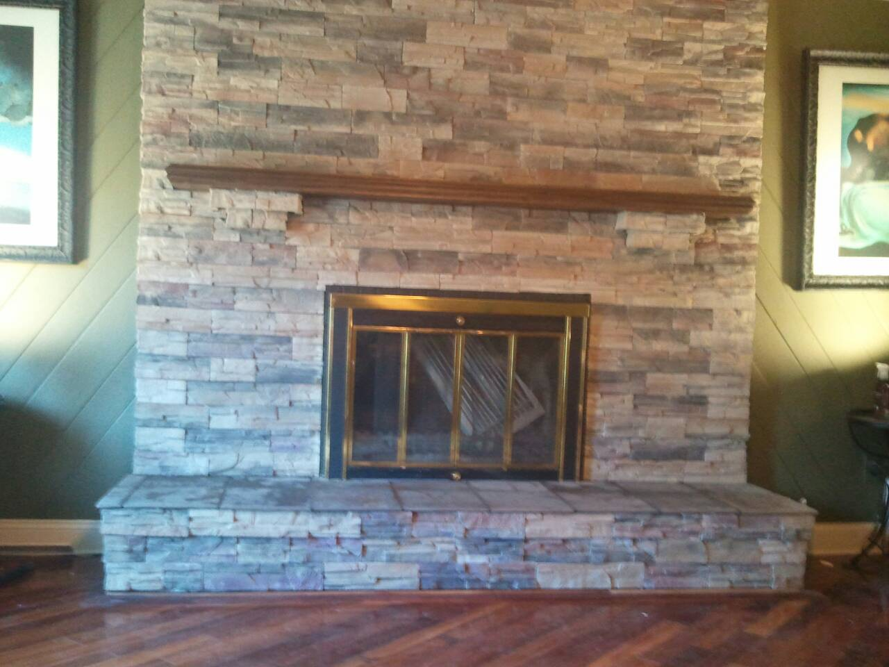 putting veneer stone over an old chimney masonry contractor talk