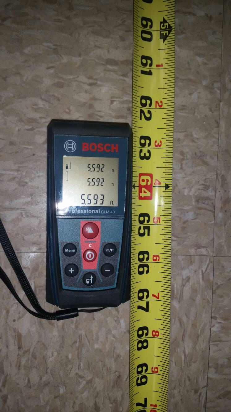 Bosch afstandsmåler glm 40