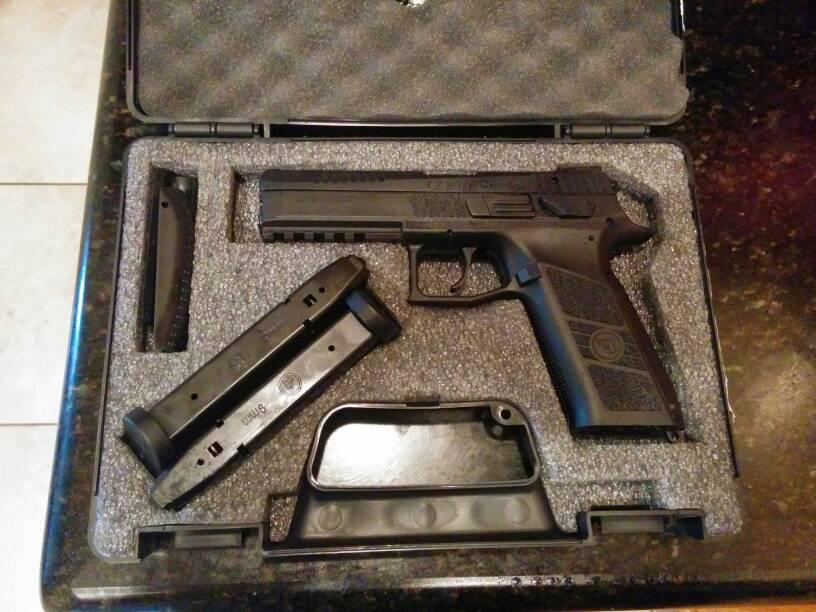 New range/night stand pistol-1425392538784.jpg