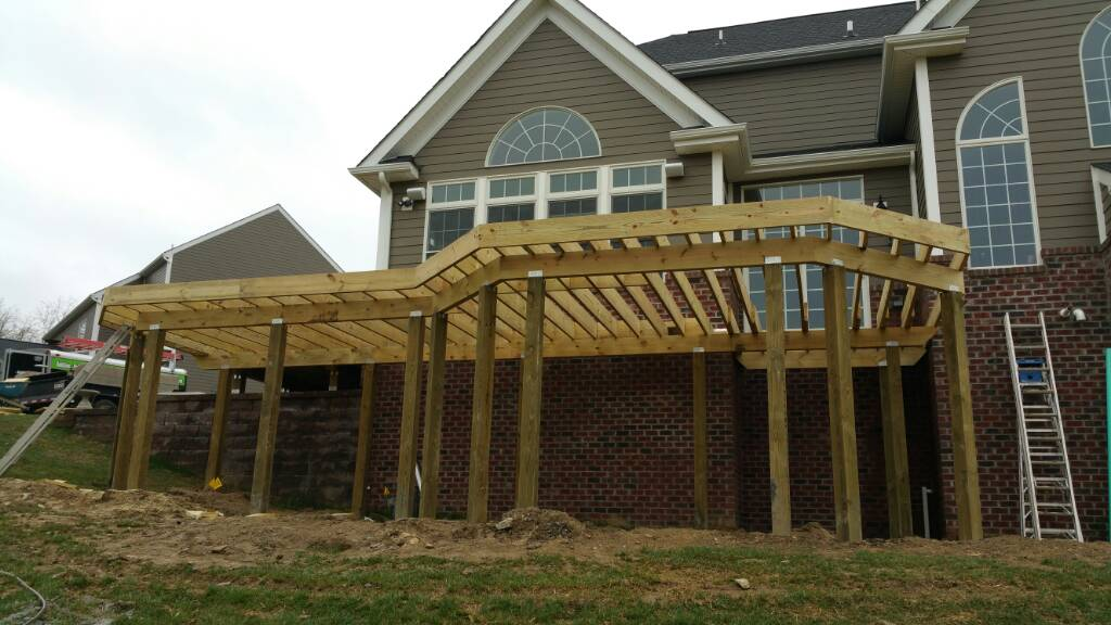 Deck Framing Challenge Decks Amp Fencing Contractor Talk
