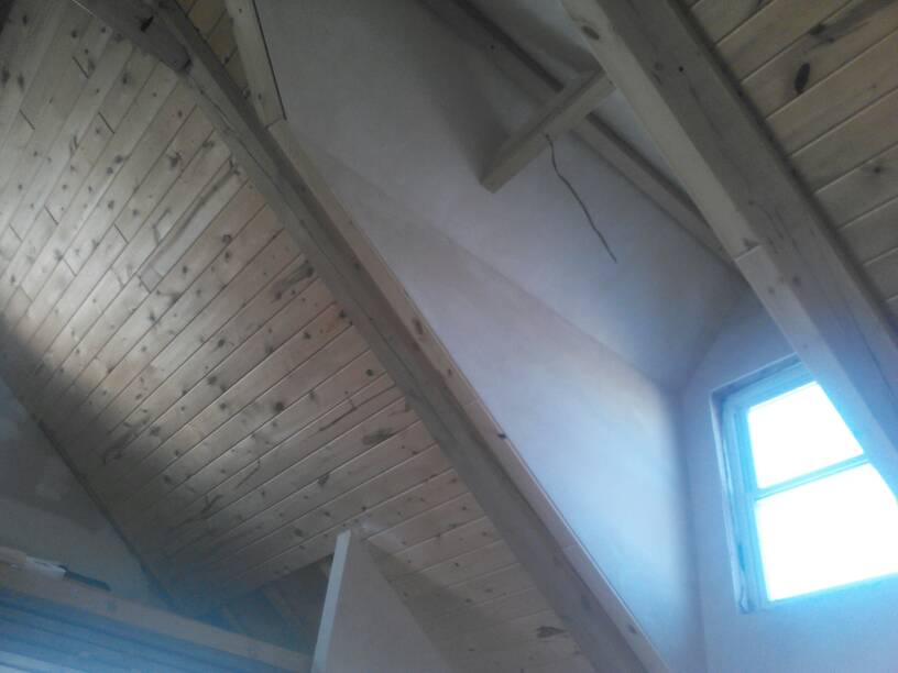 Spray Foam Between Attic Trusses General Discussion