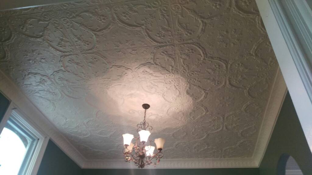 My first tin ceiling as a contractor-1432934763208.jpg