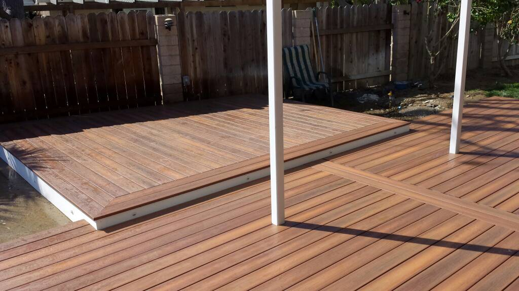 Fiberon horizons ipe decks fencing contractor talk for Ipe decking vs trex