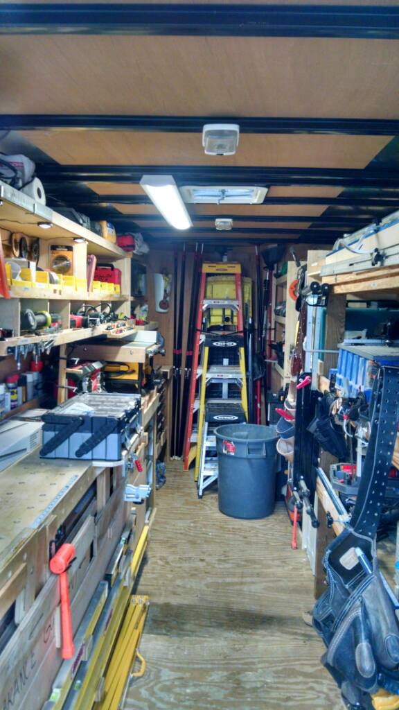 Job site trailers show off your set ups page 95 for Rv workshop