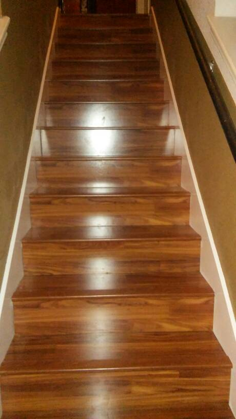 Laminate Flooring In Stair Treads With Out Flush Nosing ? 1457624900562