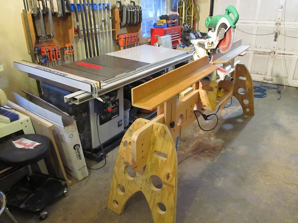 Homemade Chop Saw Stand Thread Page 3 Carpentry
