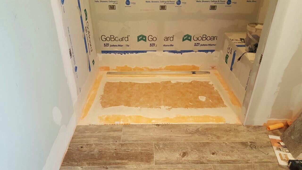 Curbless Shower With Linear Drain Page 2 Tiling Contractor Talk