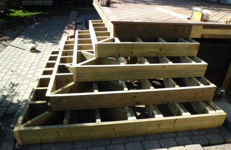 Wrap Around Deck Construction : Wrap around steps decks fencing contractor talk