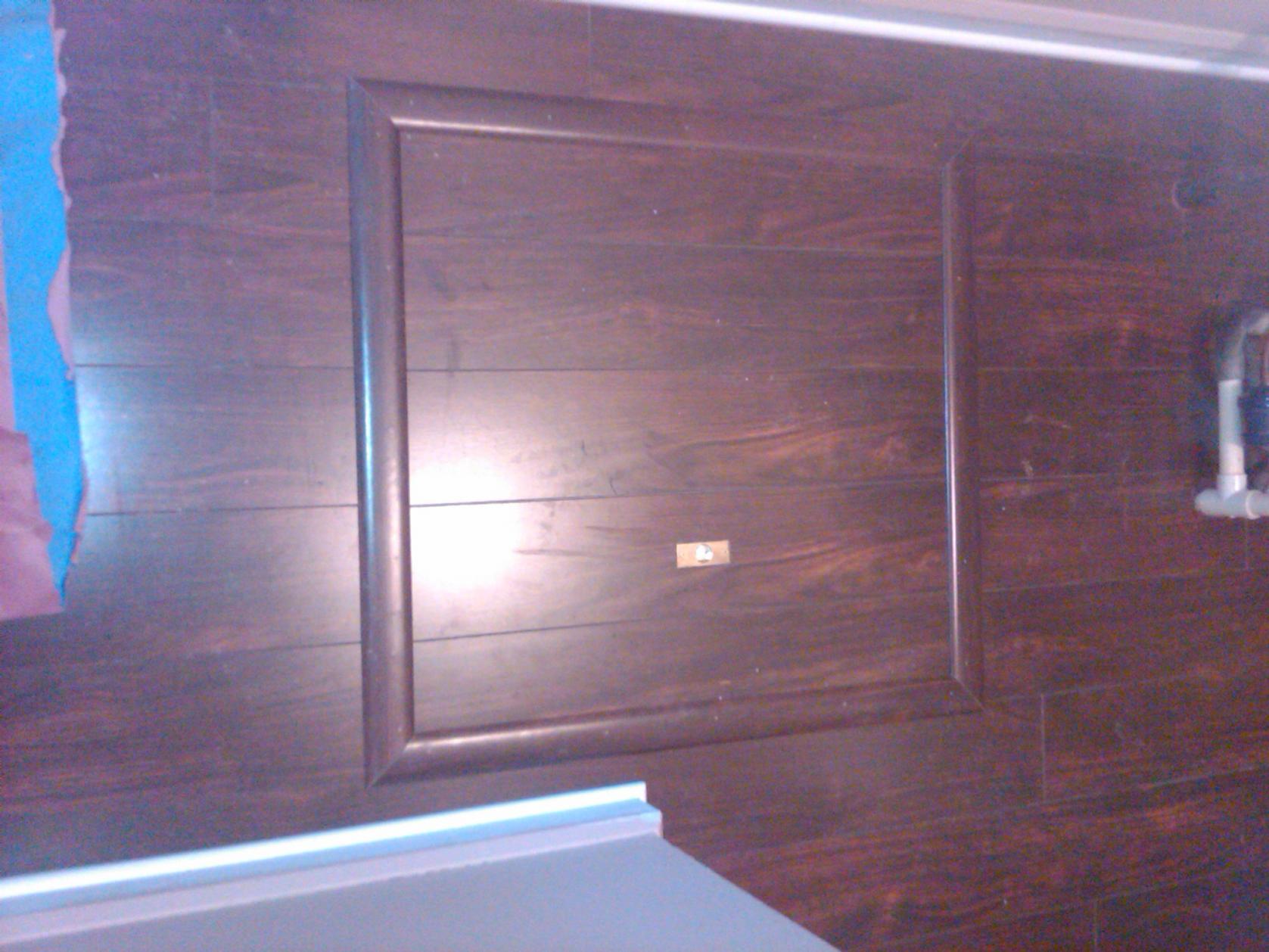 Trap Door Trim Kits Flooring Contractor Talk