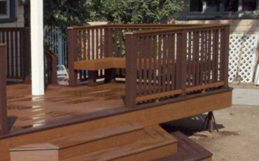 Standard Height And Width For Bench On A Deck Decks
