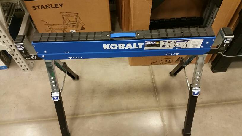 Kobalt Folding Sawhorse Tools Amp Equipment Contractor Talk