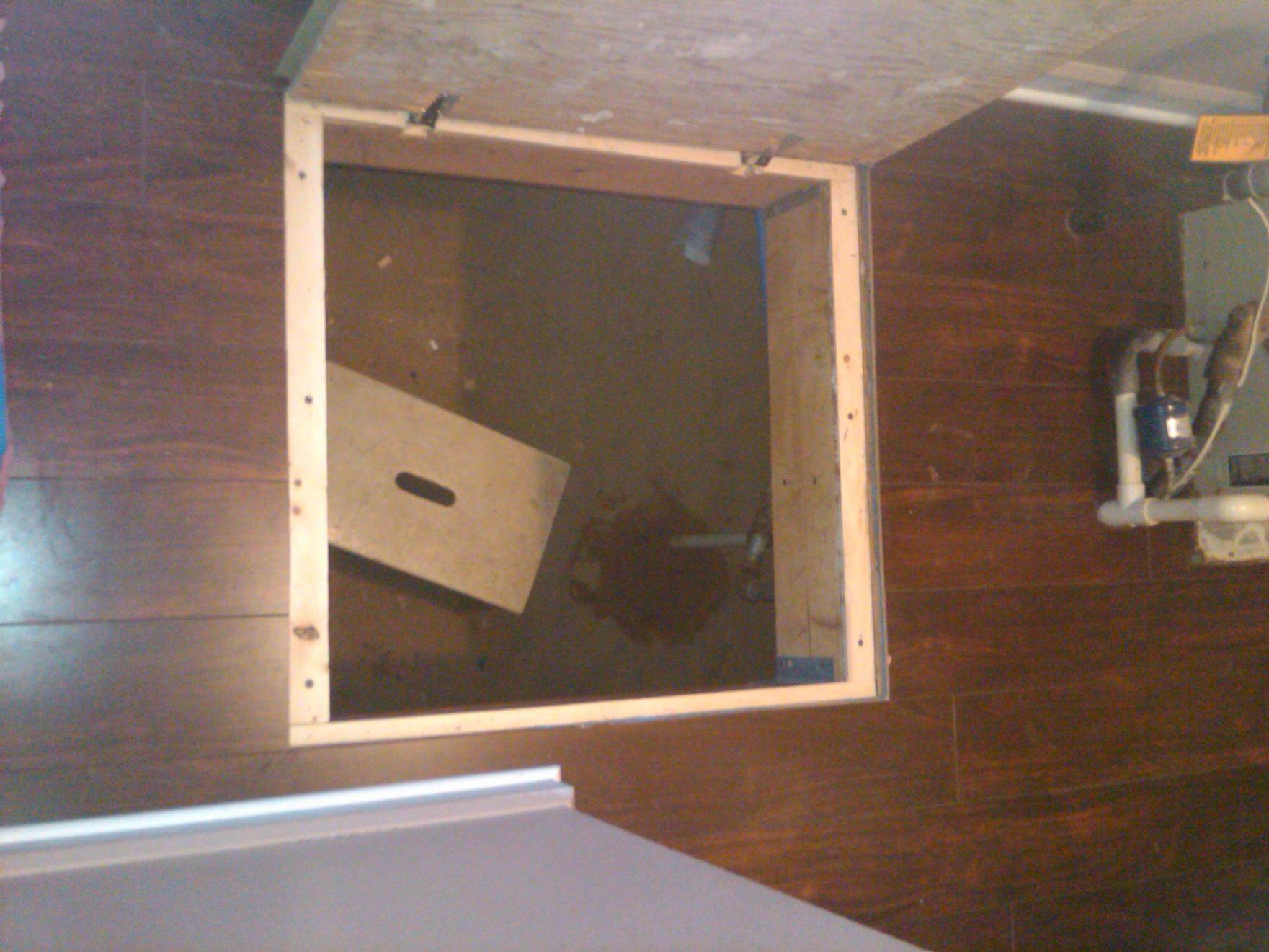 Trap Door Trim Kits Flooring Contractor Talk
