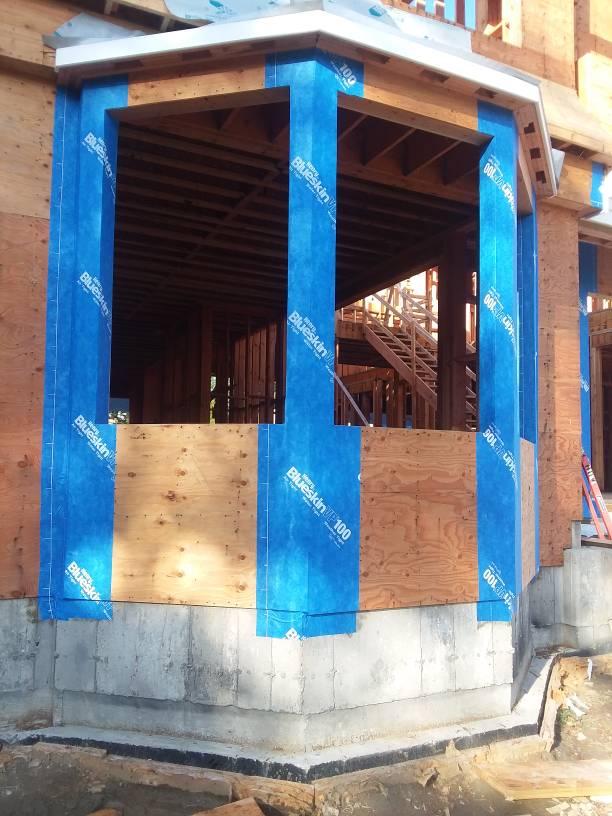 Self-Adhered Water Resistive Air Barrier Membrane, (house wrap.)-1508009174232.jpg