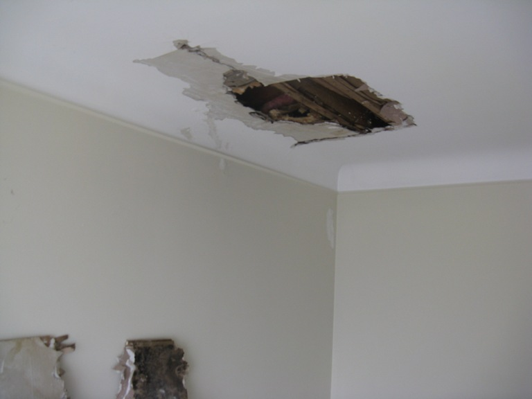 Water Damage Cove Ceiling Drywall Contractor Talk