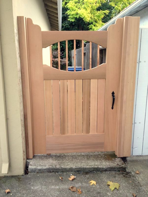New Cedar Gate Carpentry Picture Post Contractor Talk