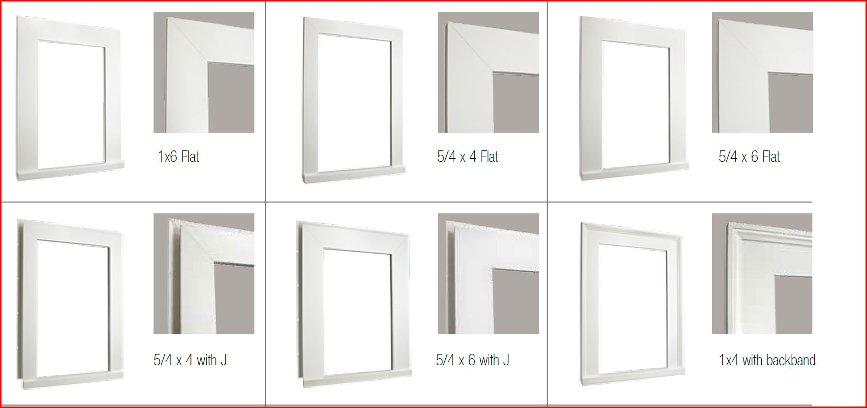 Vinyl window casing - How