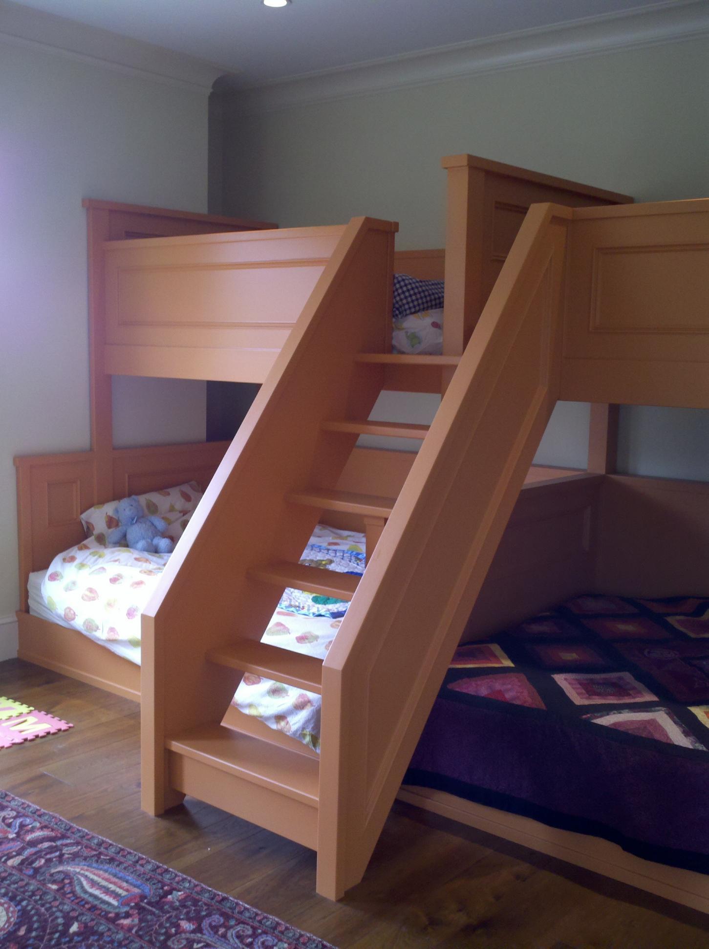 Quadruple Bunk Bed Plans Re: pair of quad bunk beds