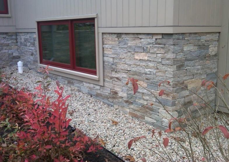 Stone Wainscot Design Details Masonry Contractor Talk