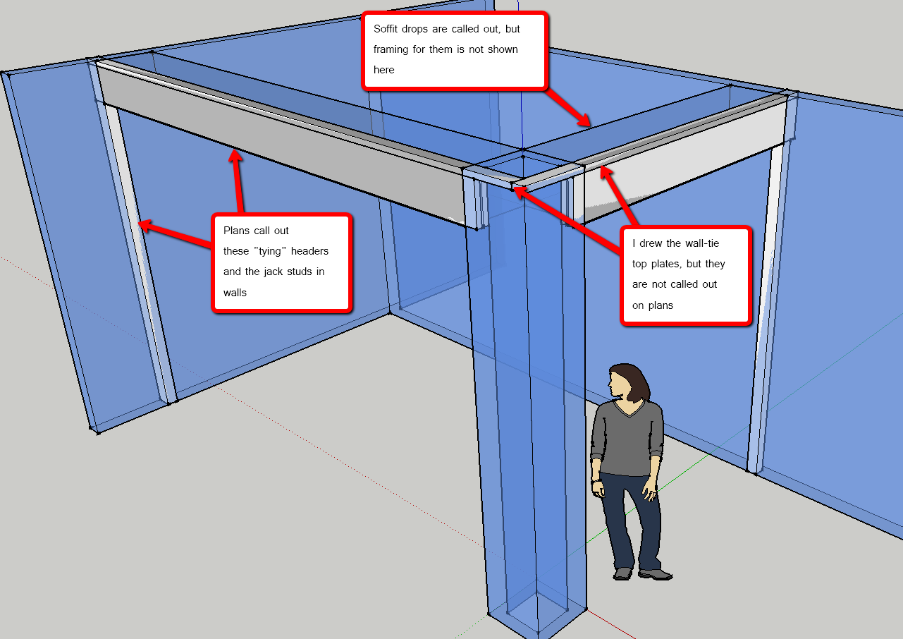 Tie In The Small Interior Wall Groups Why Framing Contractor Talk