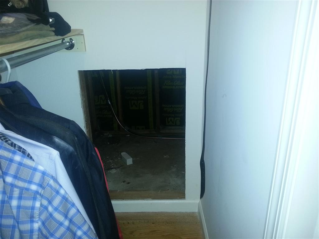 Hidden Door In Closet Suggestions Finish Carpentry Contractor Talk
