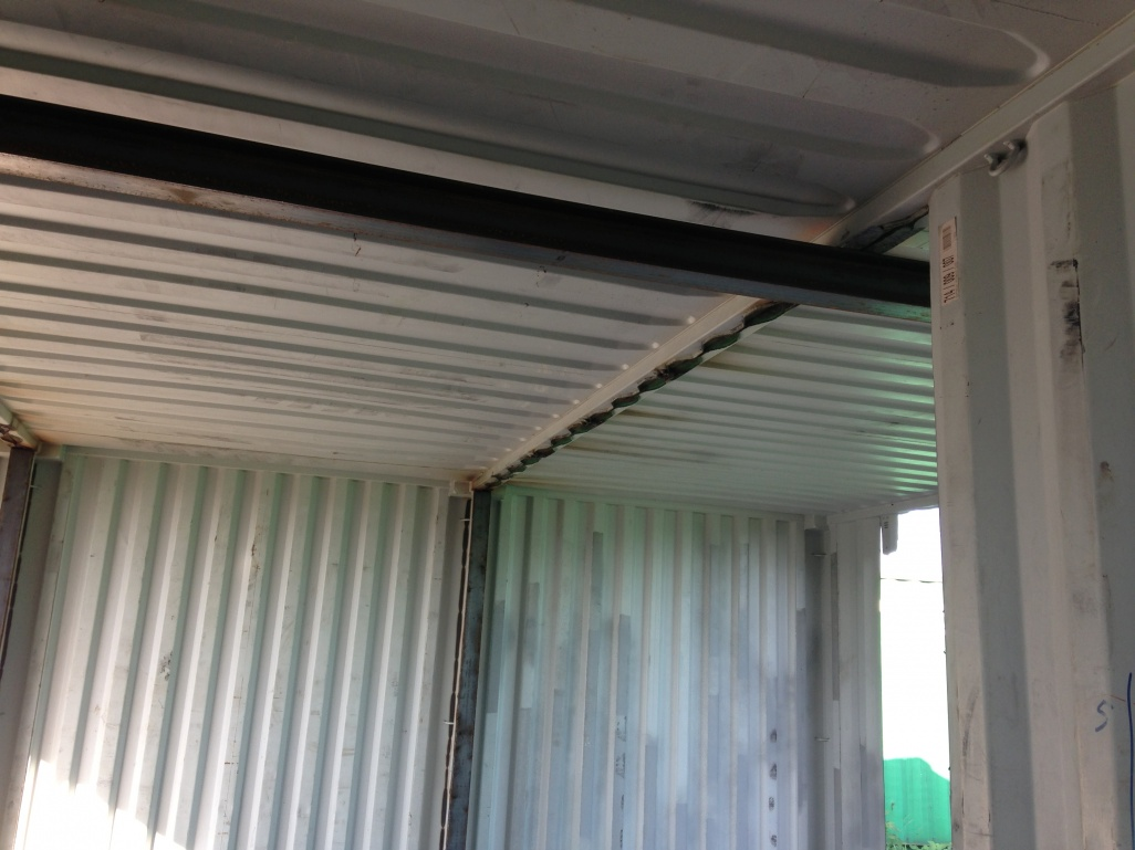 Ceiling Construction For My Container Home Project
