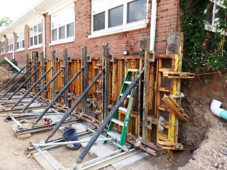 how to build a round 24 concrete form