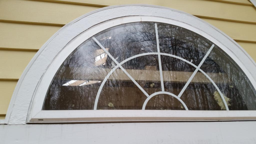 Half round window trim round designs for Round top windows