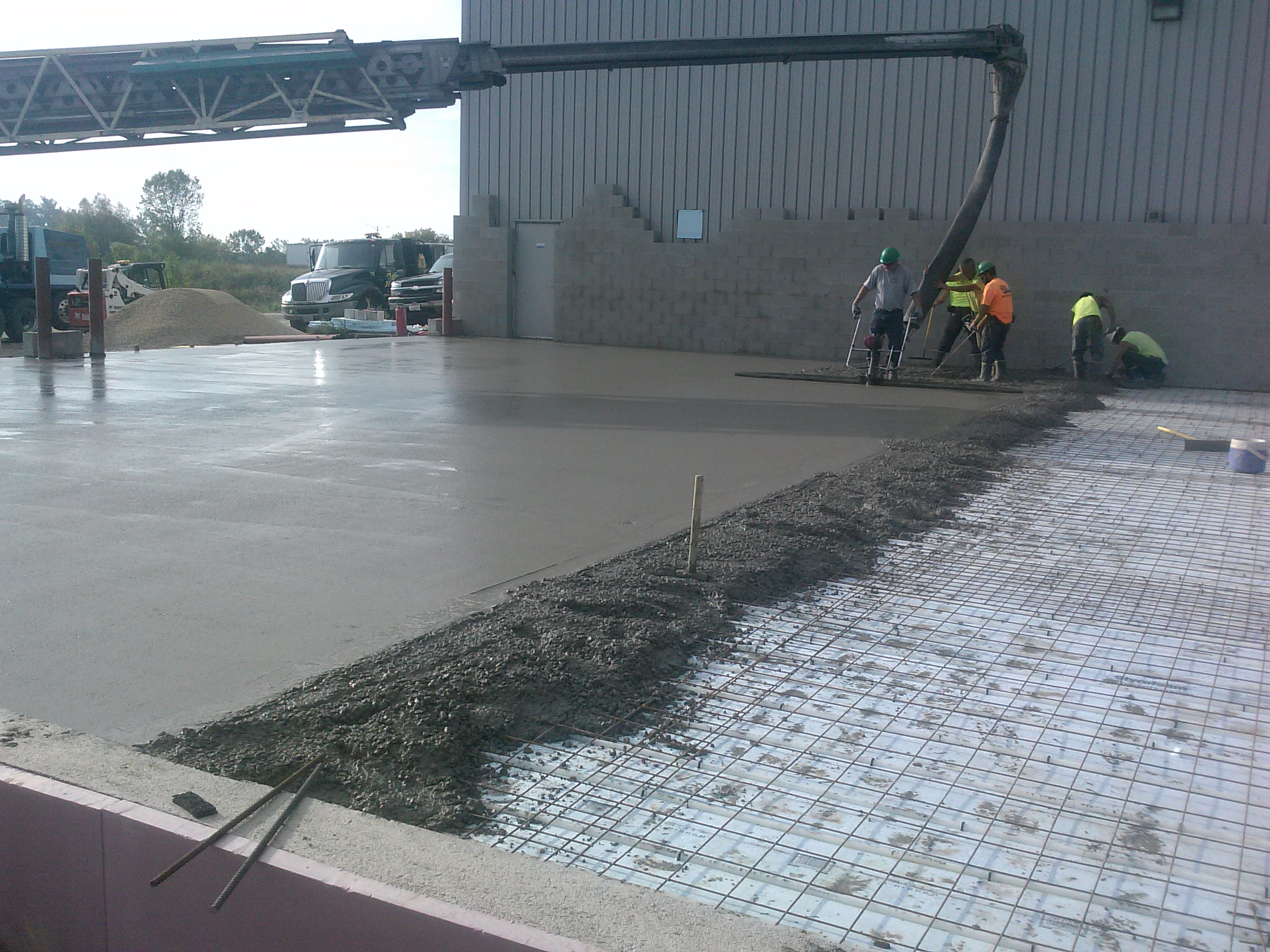 New Concrete Finish Coming Off Why 2017 09 25 08 47