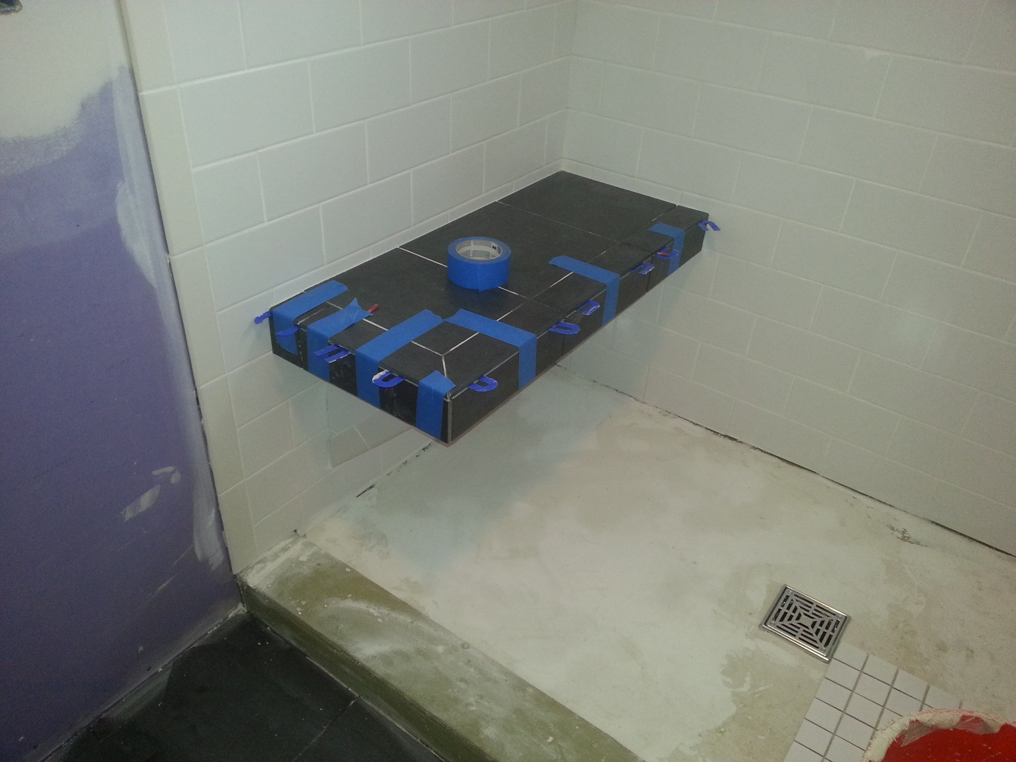 Floating Shower Bench Tiling Contractor Talk