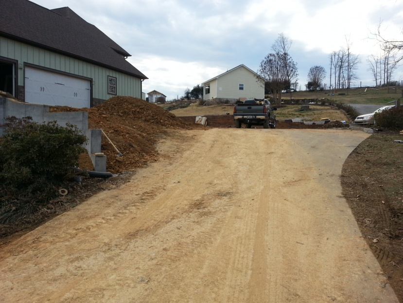 Pouring new driveway on top of old driveway concrete for Pouring concrete driveway
