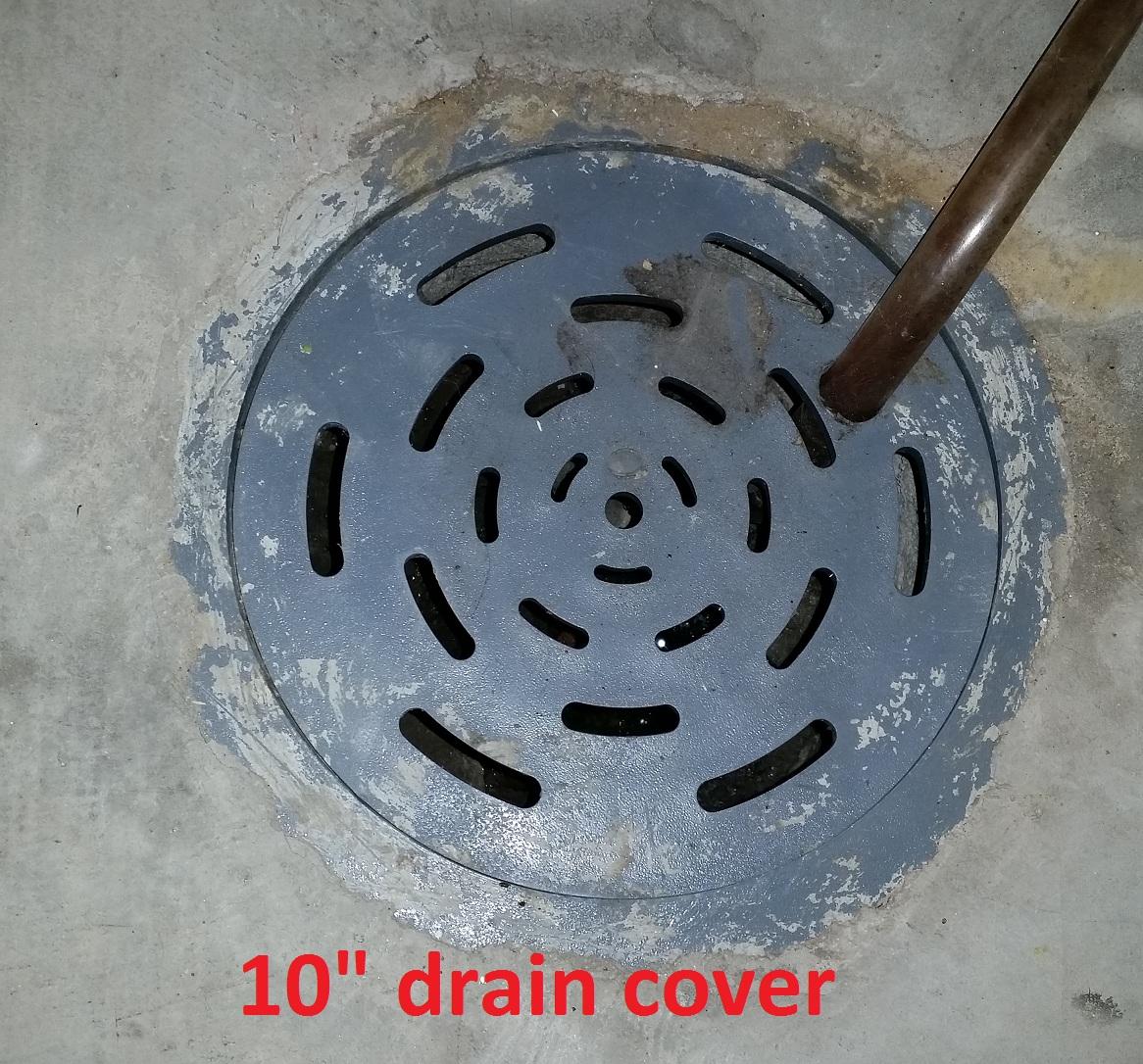 Basement Floor Drain Cover. Basement Floor Drain Construction