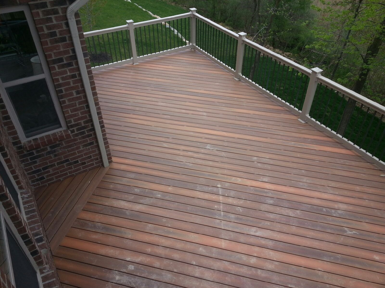 What is best material for deck decks fencing for Best decking material to use