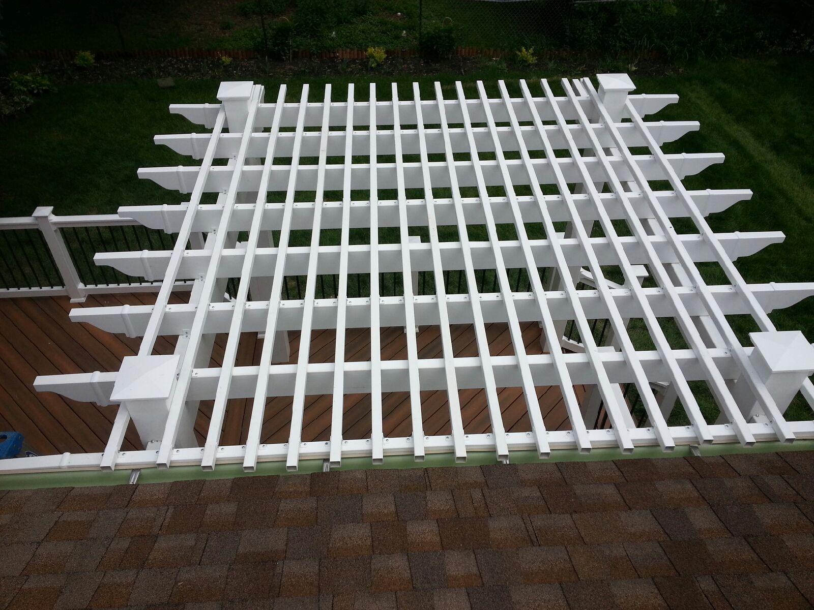 Vinyl / Aluminum Pergola Kits - Decks & Fencing - Contractor