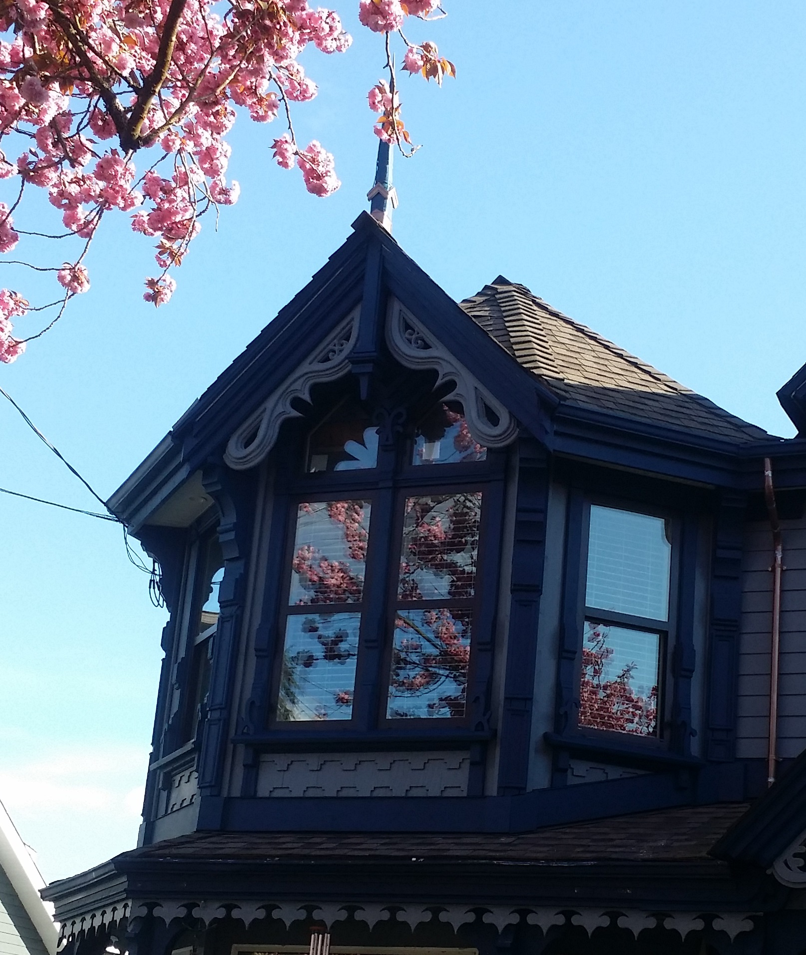 My after work project. Vinyl siding spec house to Victorian Stick Eastlake-20160404_165921a1.jpg
