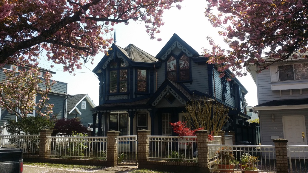 My after work project. Vinyl siding spec house to Victorian Stick Eastlake-20160410_135120s.jpg