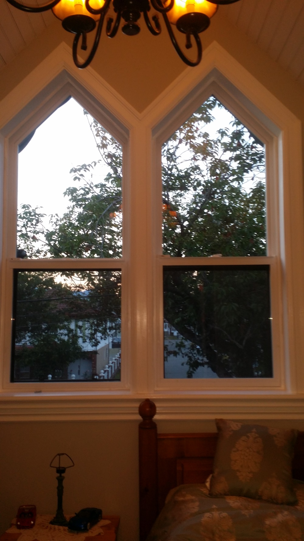 My after work project. Vinyl siding spec house to Victorian Stick Eastlake-20160530_205655.jpg