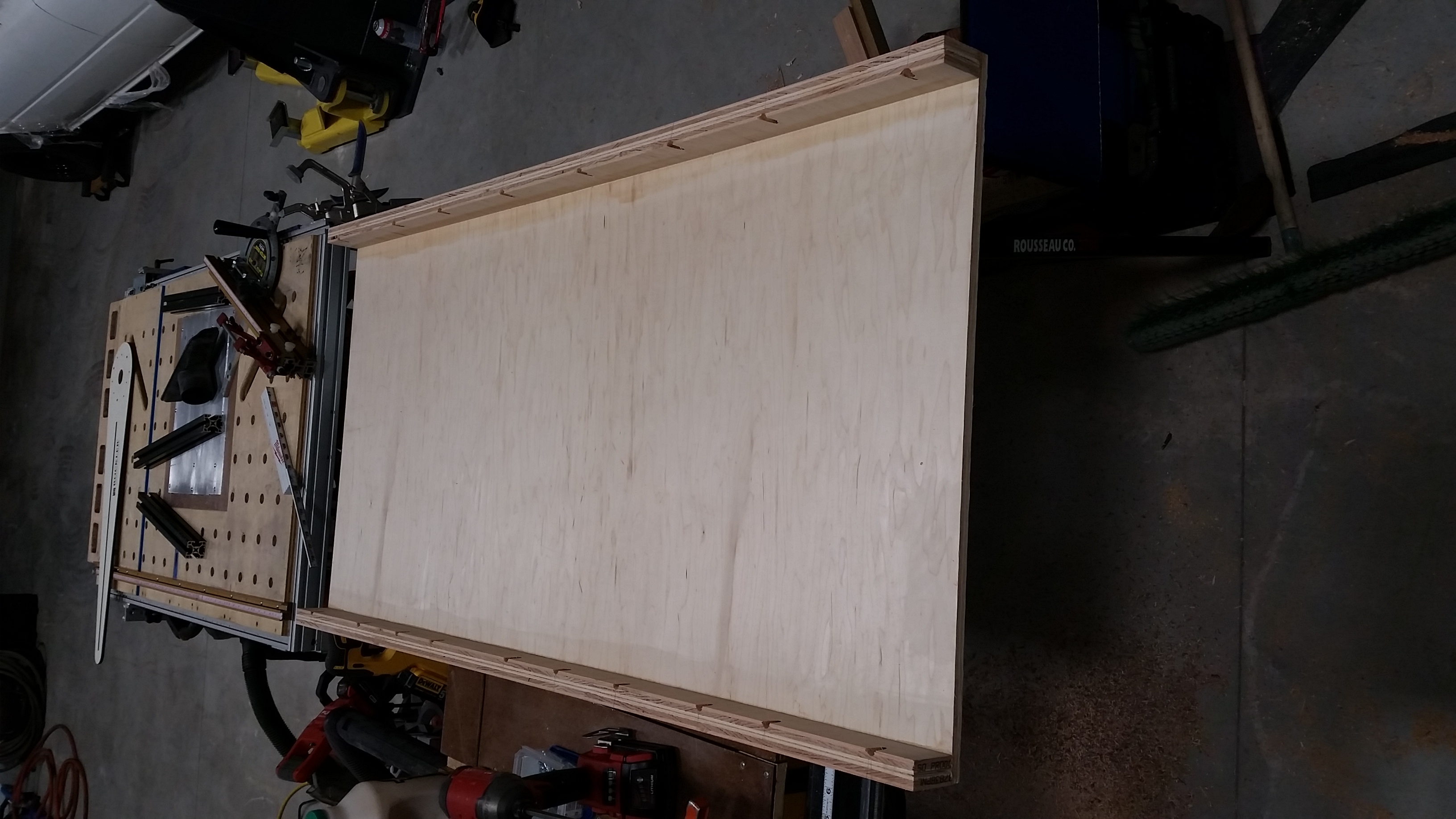Made a router flattening sled to flatten Christmas presents-20181215_175736.jpg