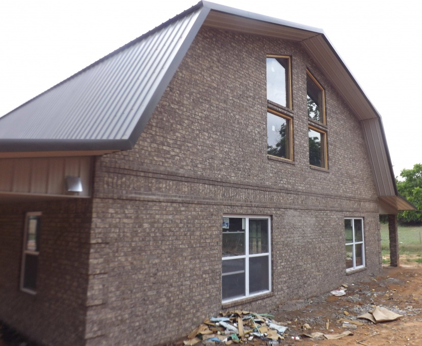 Icf home steel roof system a different way to build for Icf concrete roof