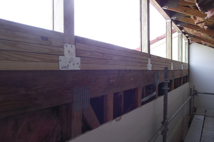 Raise The Roof Exterior Wall Repair Carpentry Picture Post