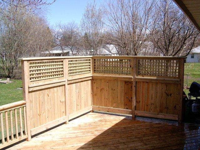 How To Build A Vertical Lattice Panel Decks Amp Fencing Contractor Talk