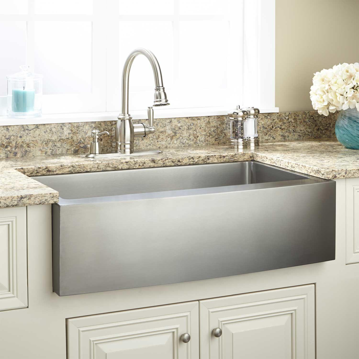 Sink Base For Farmhouse Sink : Farm Sink for 24 Cabinet Base?-285636-l-optimum-stainless-steel ...