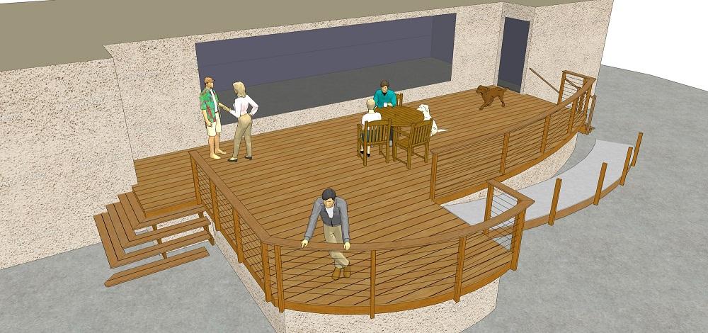 Steel Deck Framing! - Decks & Fencing - Contractor Talk